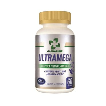 Ultramega (SeaFish Oil Omega-3): Heart, Joint & Brain Health