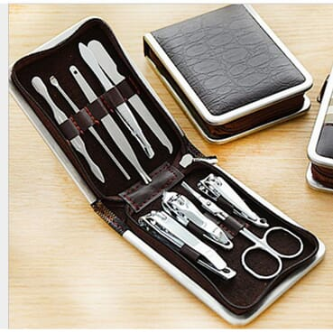 Unisex 9Piece Stainless Steel Manicure Kit /Cutter Kits
