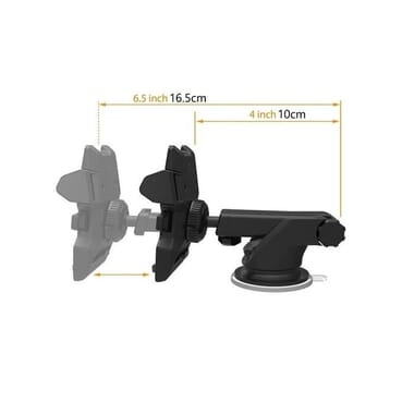 Universal 360°Rotation Automatic Locked Car Phone Holder Bracket Stand Windshield Mount For GPS Mobile Phone Holder