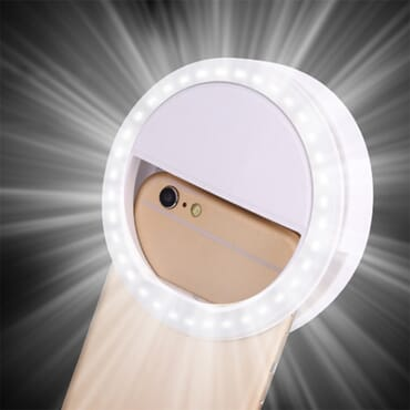 Universal Selfie LED Ring Flash Light for Mobile Phone