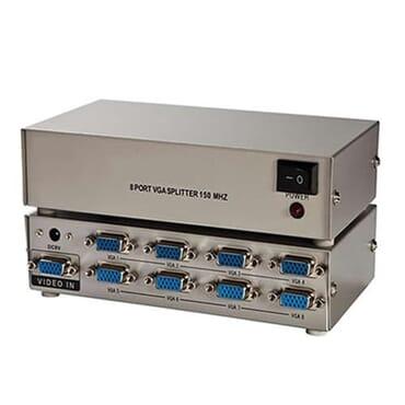 VGA 8 Port VGA Video Splitter