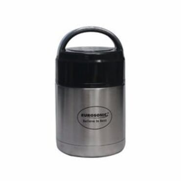 Eurosonic Vaccum Insulated Food Flask - 700ml with Free Spoon