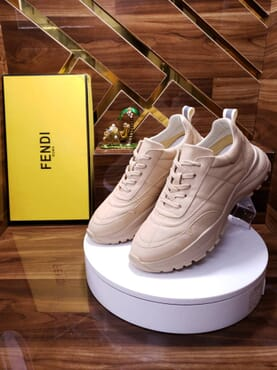 Fendi Unisex Bug Sneakers