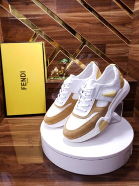 Fendi Laced Running Sneaker