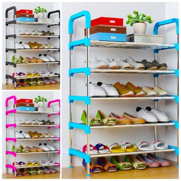 Shoe Rack - 5 Steps