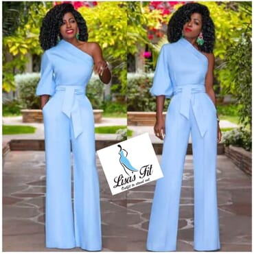 One sleeve Jumpsuit (Lisa fits)