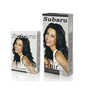 Subaru natural black hair dye S