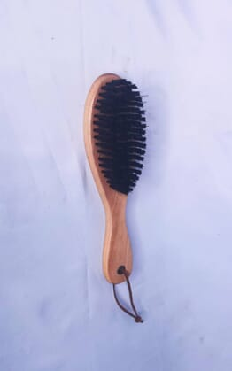 Mens wave brush color wooden