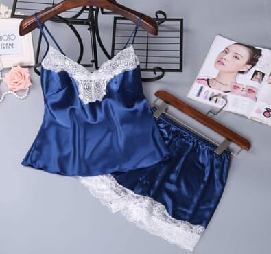 Women's Silk Lingerie Sets