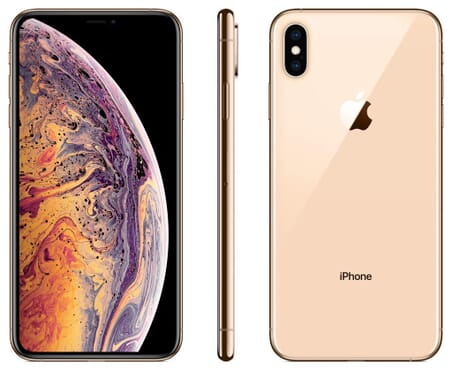UK USED Apple IPhone  XS Max (4GB RAM, 512GB ROM) IOS 12 (12MP + 12MP)+7MP - Gold - Dual SIM (nano-SIM)