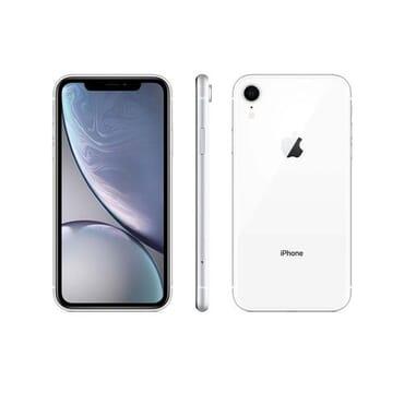 Apple IPhone XR (3GB RAM, 64GB ROM) IOS 12 (12MP+7MP) - White - (nano-SIM)