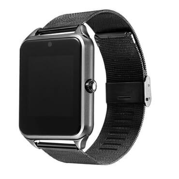 Z60 Smart Watch Metal Strap Bluetooth Wrist Smartwatch