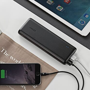 Anker PowerCore 15600 Fast-Charging Portable Powerbank with 4.8A Output