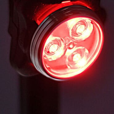 USB Rechargeable Super Bright LED Bicycle Tail Light