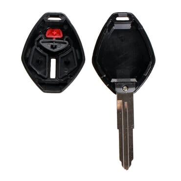 3 Button Remote Key Shell For Mitsubishi Outlander 2008-2013