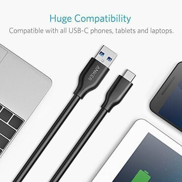 Anker PowerLine USB-C to USB 3.0 Cable (10ft)