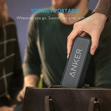 Anker SoundCore Portable Bluetooth Speakers with 24-Hour Playtime