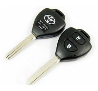 2 Button Toyota Corolla -SA Replacement Shell