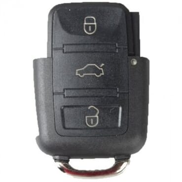 3 Button Remote Key Fob Case Shell Tail For VW Seat Skoda