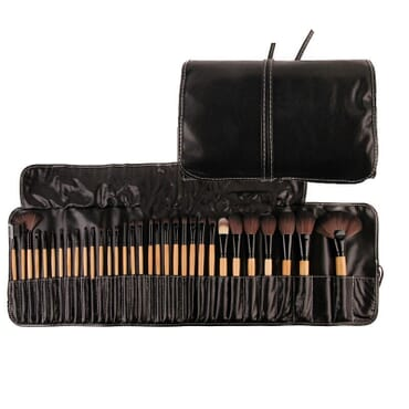 Makeup brush set - 32pcs - black