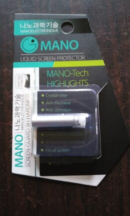 Mano Liquid Screen protector