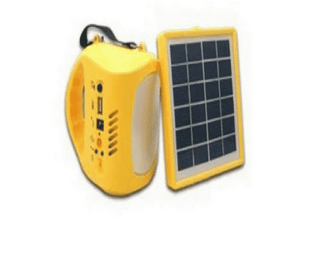 Solar Rechargeable Lantern with Radio