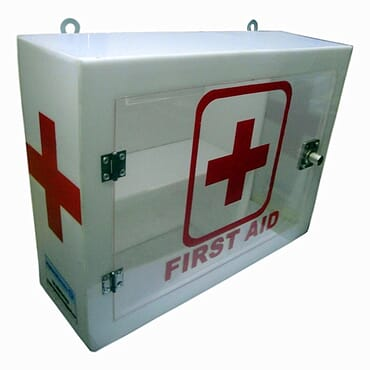 Wall Mounted First Aid Box - Regular