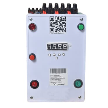 60Amps automatic changeover with generator auto start and timer