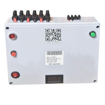 100Amps automatic changeover with generator start function