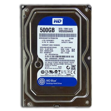 Desktop Internal Hard Drive 500gb