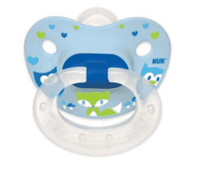NUK WOODLANDS SILICONE ORTHODONTIC PACIFIERS, 2 COUNT
