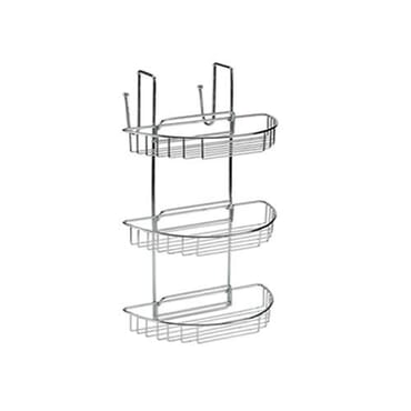 3 TIER HANGING SHOWER BASKET RACK
