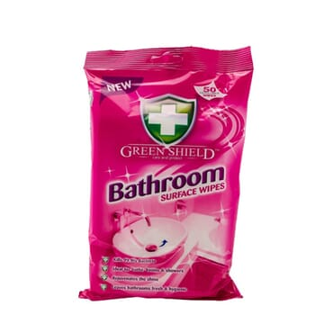 Green Shield Bathroom Wipes 50