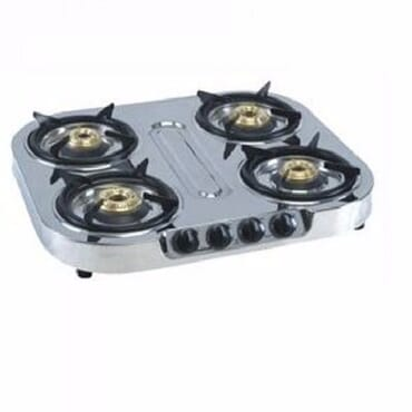 Bajaj Pride 4 Burner Stainless Gas JAPP0065