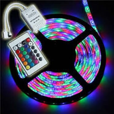 LED STRIP - Remote Control Colourful TAPE  Light - 5meters