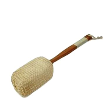 Sponge with wooden Handle