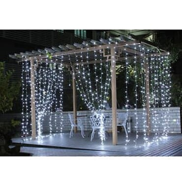 Curtain String Water Fall - Garden - Christmas Decoration Light