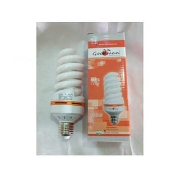 40W Energy Saving Bulb Fluorescent - E27 (pack of 10)