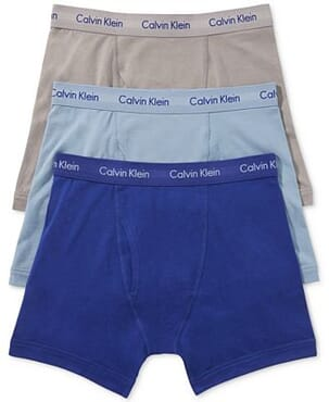 Calvin Klein Men's Boxer Briefs (3-in-1 Pack)