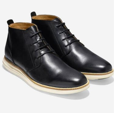 K-Choc Desert Boots In Black