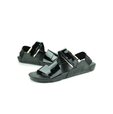 K-Choc Smooth Leather rubber grip sandals