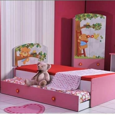 (2in1) kids bedroom set