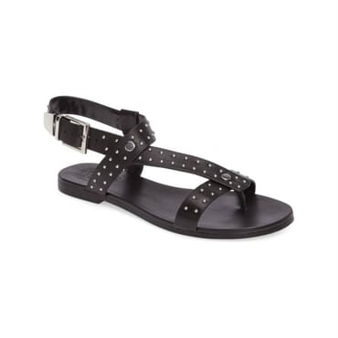 Men's Single buckle  Leather Sandals