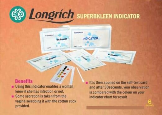Longrich SuperbKlean Indicator