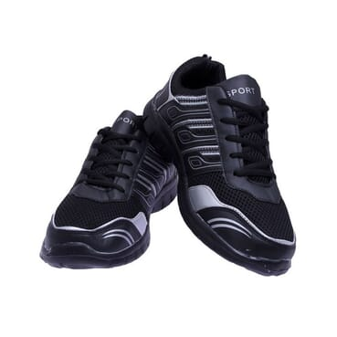 Unisex Sports Trainers-Black