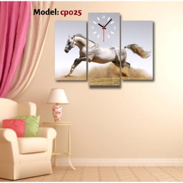 One Horse Canvas Wall Art cp025