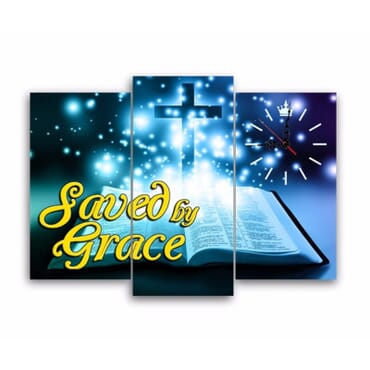 Saved By Grace Canvas Wall Panels cp024
