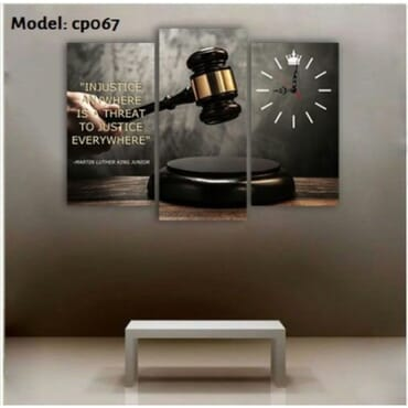 Justice Canvas Wall Art cp067