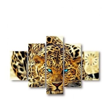 Leopard Printed Canvas Wall Art cp006