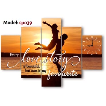 Love Story Canvas Wall Art cp039